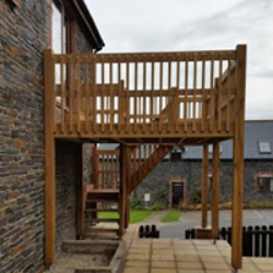 decking builder cornwall